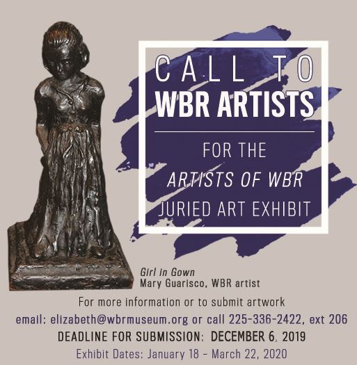 Call to WBR Artists Flyer